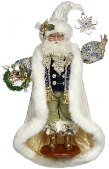 CHRISTMAS GREETING SANTA - LIMITED EDITION, 24 INCHES