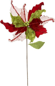 JINGLE BELL POINSETTIA PICK