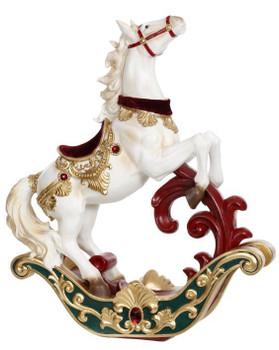 JUMPING ROCKING HORSE