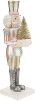 NUTCRACKER WITH LIGHTS - 14.5 INCHES