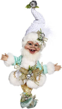 ICE SKATING ELF - SMALL, 11 INCHES