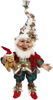 TEDDY BEAR ELF - MEDIUM, 17 INCHES