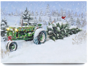 TRACTOR - MERRY CHRISTMAS