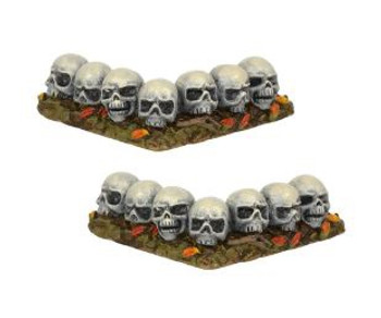 ROW OF SKULLS CURVED - 6001747