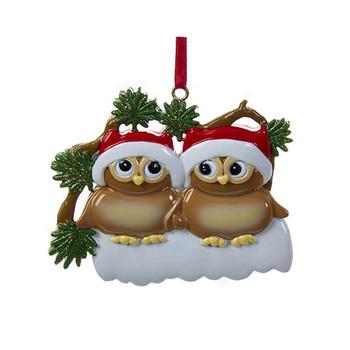2 OWL FAMILY - W8262