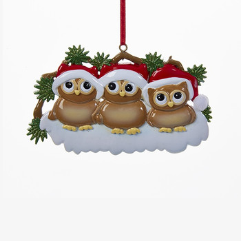 3 OWL FAMILY - W8263