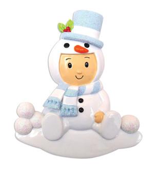SNOWMAN BABY BOY - OR1639-B