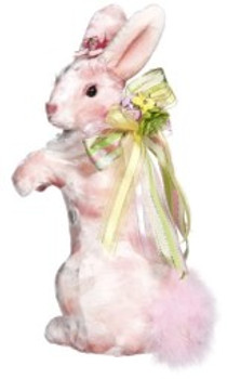 Standing Pink Rabbit by Mark Roberts