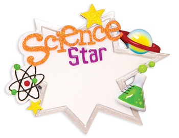 SCIENCE STAR ORN - OR1580