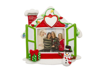 HOUSE PICTURE FRAME ORN - PF1768