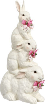 Rabbit Trio Stack by Mark Roberts