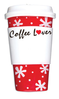 COFFEE LOVER ORN - OR1168