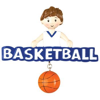 BASKETBALL BOY ORN - OR1243-B