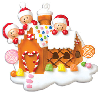 3 GINGERBREAD HOUSE - OR965-3
