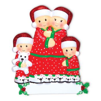 4 PAJAMA FAMILY - OR1470-4