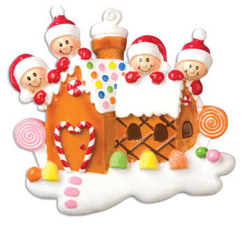 4 GINGERBREAD HOUSE - OR965-4