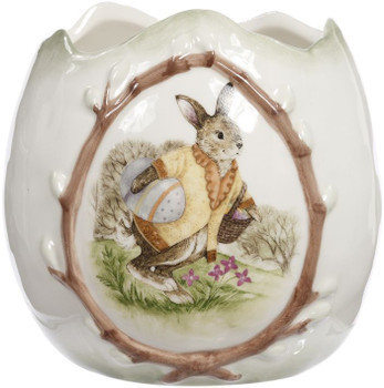 Rabbit Egg Case by Mark Roberts