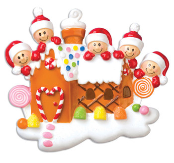 5 GINGERBREAD HOUSE
