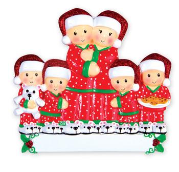 6 PAJAMA FAMILY