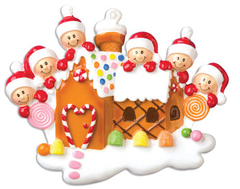 6 GINGERBREAD HOUSE - OR965-6