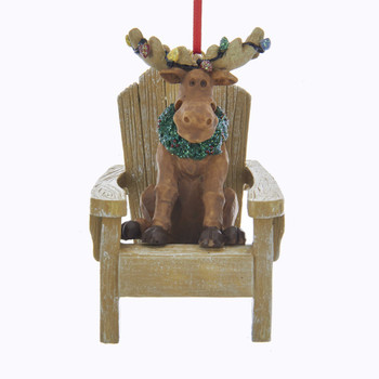 MOOSE ON CHAIR