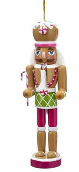 BLUE GINGERBREAD NUTCRACKER