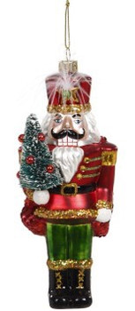 Nutcracker with Feather and Tree Ornament by Mark Roberts