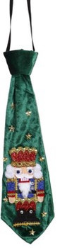 Nutcracker Festive Tie Decor Ugly Tie by Mark Roberts