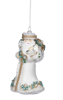Winter White Santa by Mark Roberts