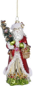 Gift Giving Santa by Mark Roberts