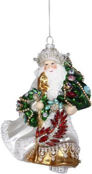 Jewel and Gem Santa by Mark Roberts 38-03262