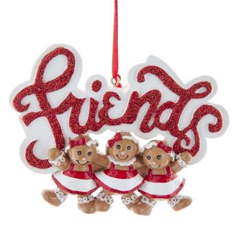GINGERBREAD GIRLS 3 FRIENDS