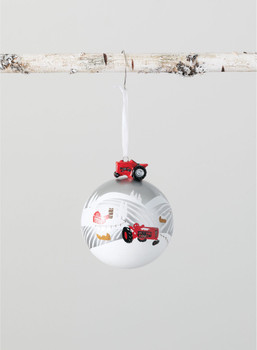 TRACTOR BALL ORN