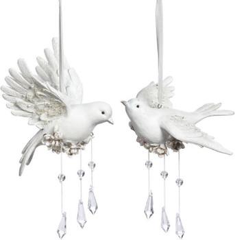BIRD WITH MAGNOLIAS