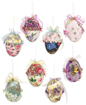 FLOWER ROYAL COURT EGGS-Pink