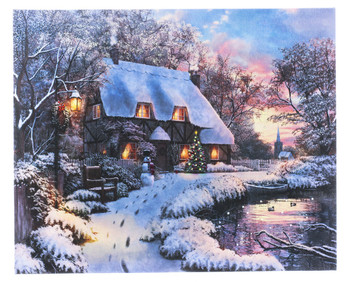 LIGHT WINTER HOUSE - OSW208172