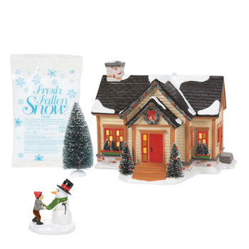 BUILDING CHRISTMAS CHEER - SNOW VILLAGE - BOX SET