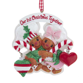 GINGERBREAD COUPLE 1ST XMAS