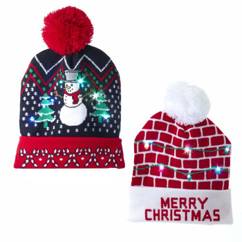 LIGHTED KNIT HAT - C5551