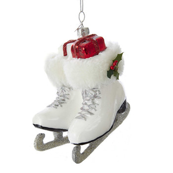 ICE SKATE BOOTS ORN