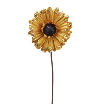 SUNFLOWER W/GLITTER