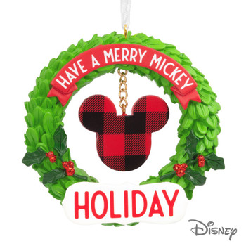 MICKEY MOUSE WREATH ORN