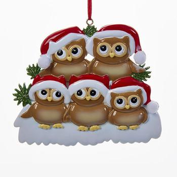 5 OWL FAMILY