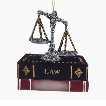 LAWYER ORNAMENT FOR PERSONALIZATION