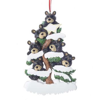 6 BEAR FAMILY