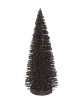 BLACK GLITTER TREE - 6002691