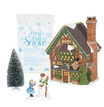 BUILDING CHRISTMAS CHEER - DICKENS VILLAGE - BOX SET - 6007261