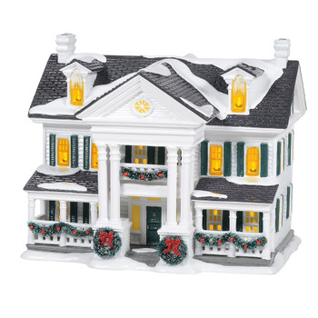 "Designed in the architectural style of Classical Revival, ""Christmas In The Mansion"" is a most stately addition to the Original Snow Village. Inspired by a beautiful mansion in York, Pennsylvania, we can only imagine the holiday memories shared."