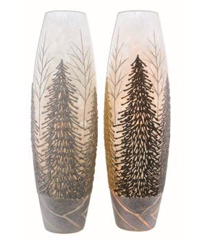 GLITTERING TREES SUPER VASE