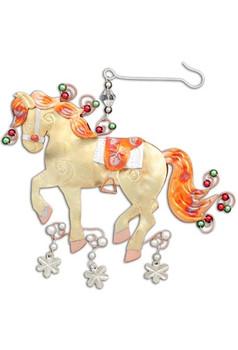 CHRISTMAS HORSE metal